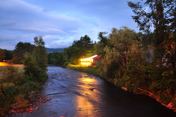 Gale River at Night